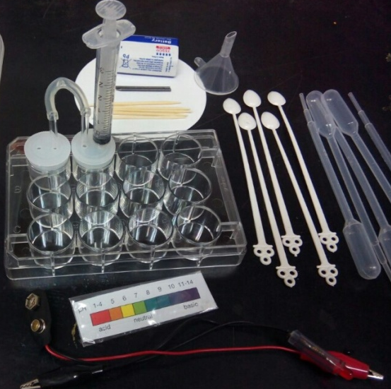 Water Conductivity Test from the Malaysian Microscale Kit